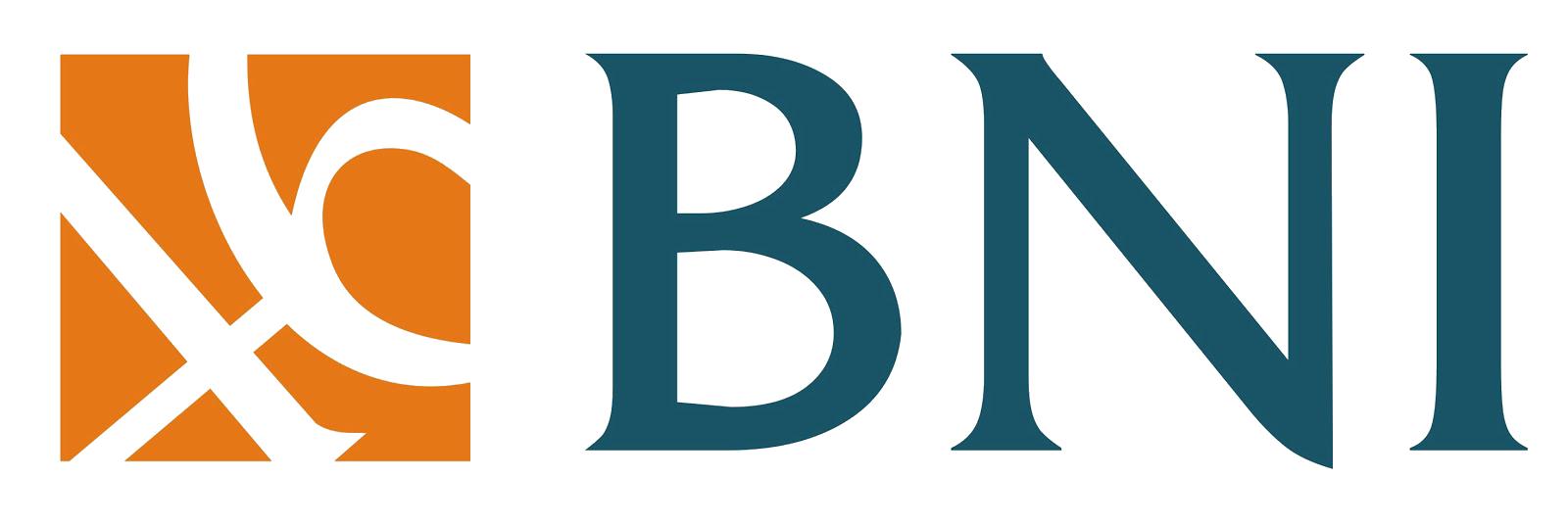 Logo Bank Negara Indonesia (BNI) mitra perbankan terpercaya